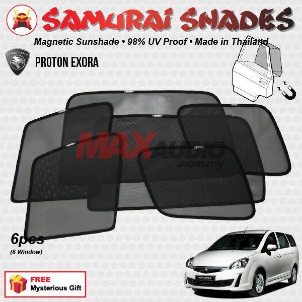 PROTON EXORA (6pcs) SAMURAI SHADES (end 2 20 2020 12 00 AM) 275722edcdc
