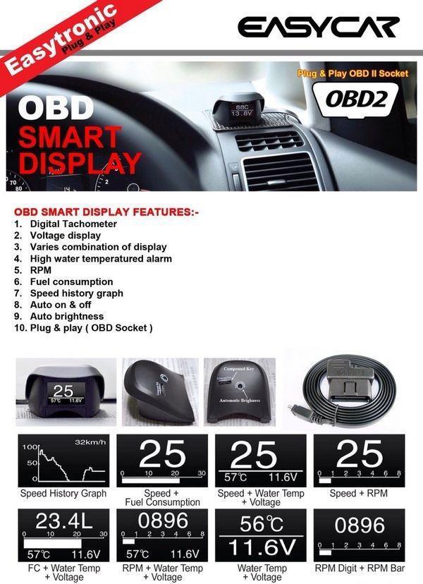 Proton exora easy car obd ii plug end 3262018 1110 am proton exora easy car obd ii plug play smart display racing monitor sciox Images