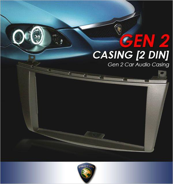 PROTON GEN 2 Double Din/ 2 Din Dashboard Panel/ Head Unit Casing