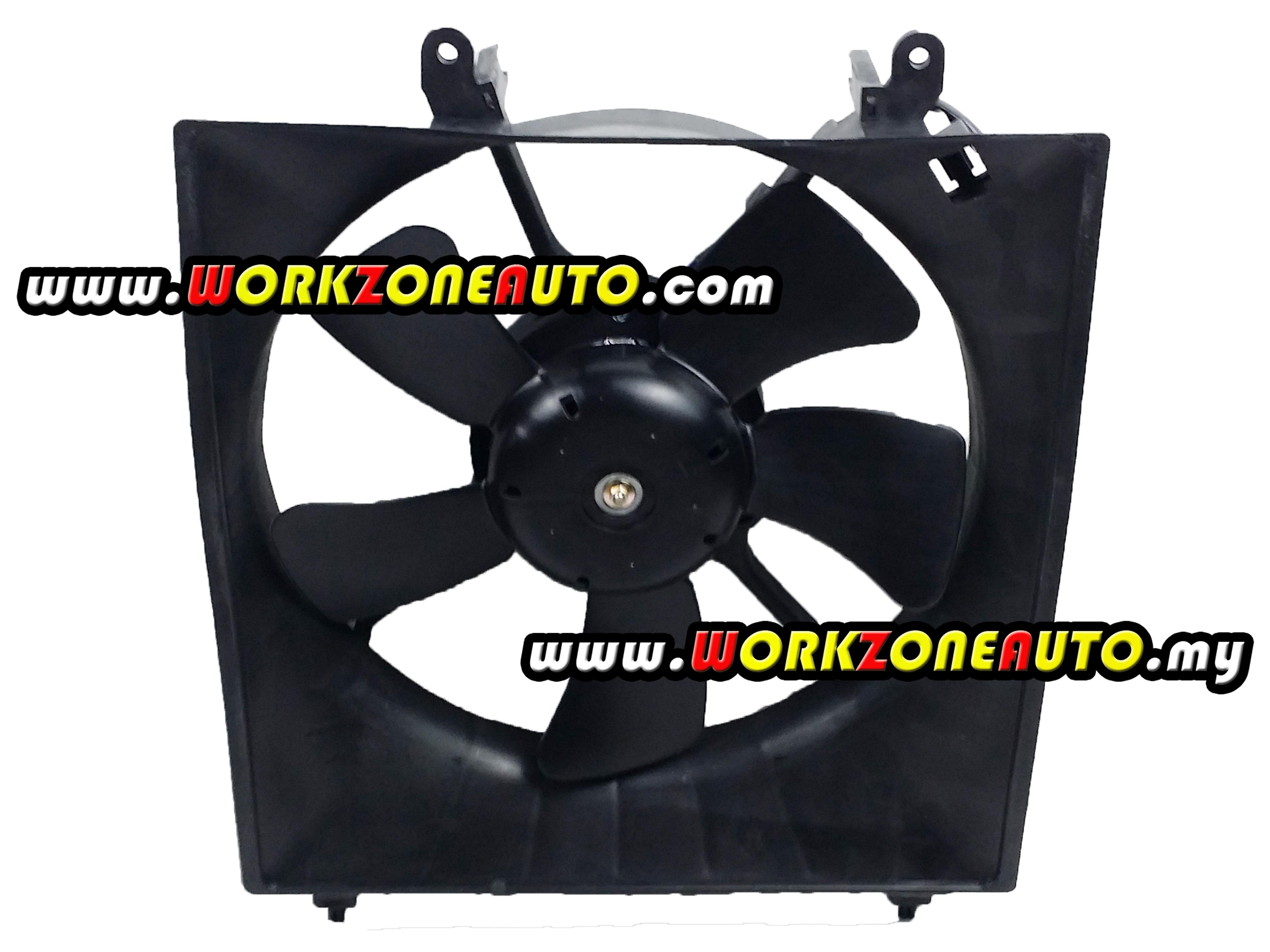 Proton Gen-2 Saga BLM Persona Manual Denso Type Radiator Fan Assembly Taiwan