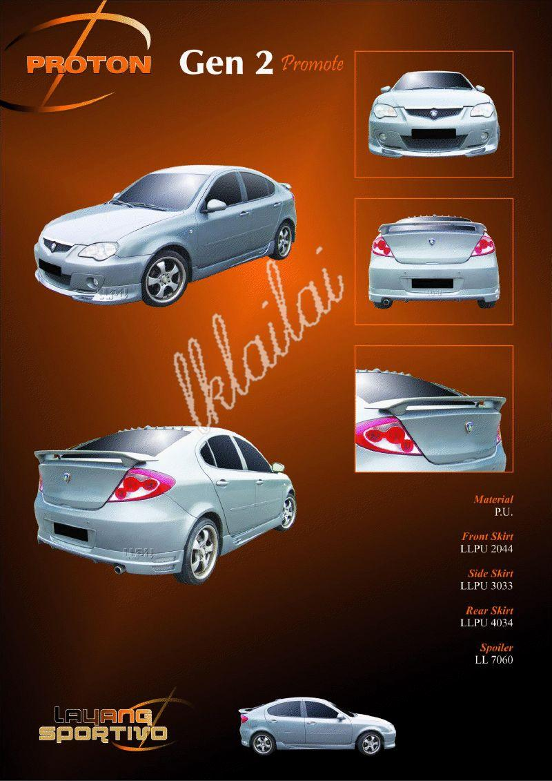 Proton Gen2 Full Set Body Kits [Promote Style] Free Reverse Camera