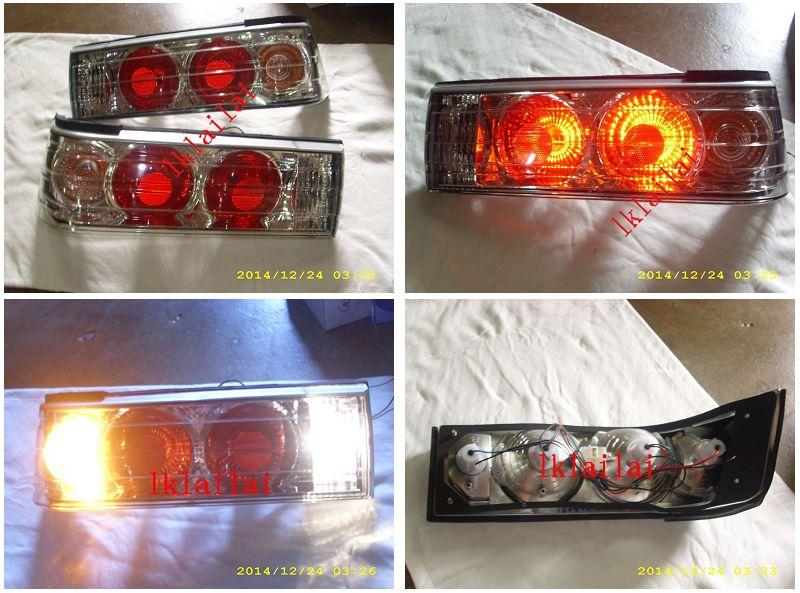 Proton Iswara '93 Crystal Clear Lens Tail Lamp [Price Per Pair]