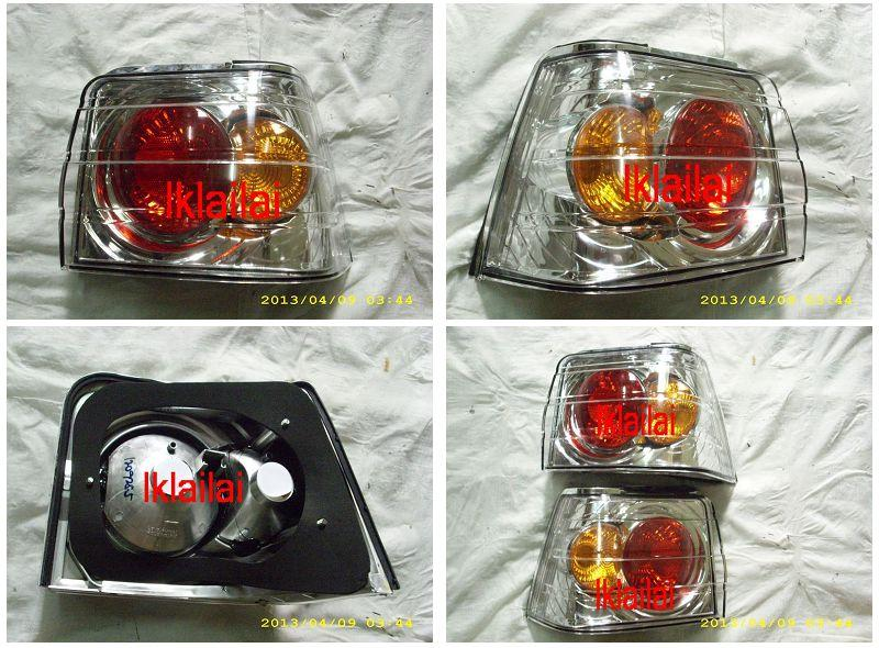 Proton Iswara Aeroback '93 Tail Lamp [Clear Housing]