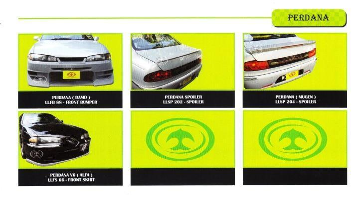 Proton Perdana - Body Kits [Please See Price List When Order]
