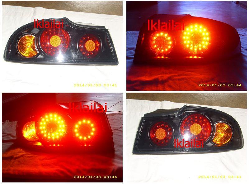 Proton Perdana LED Tail Lamp / Rear Lamp [Black] Per Pair