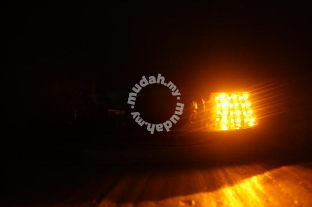 Proton Perdana Projector Head Lamp Black Base