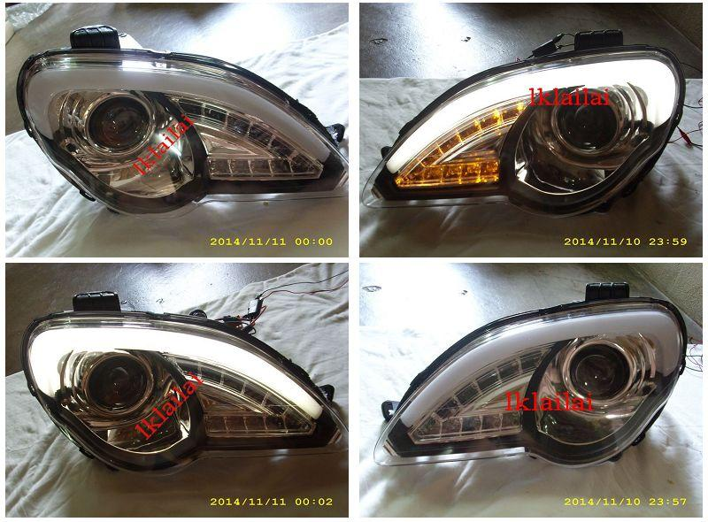 Proton Persona / Gen2 Projector Light Bar Head Lamp with LED Signal