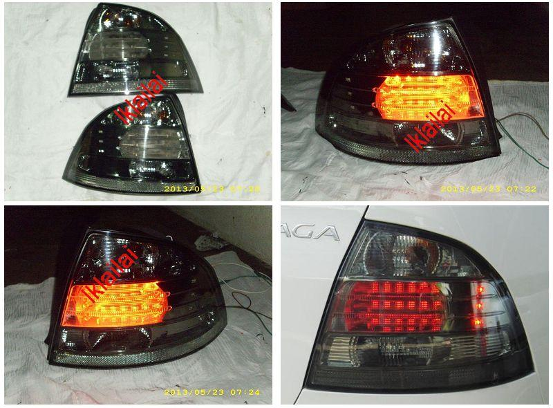 Proton Saga `08 BLM Tail Lamp Crystal LED Smoke (Lexus Look)[PT06-RL02