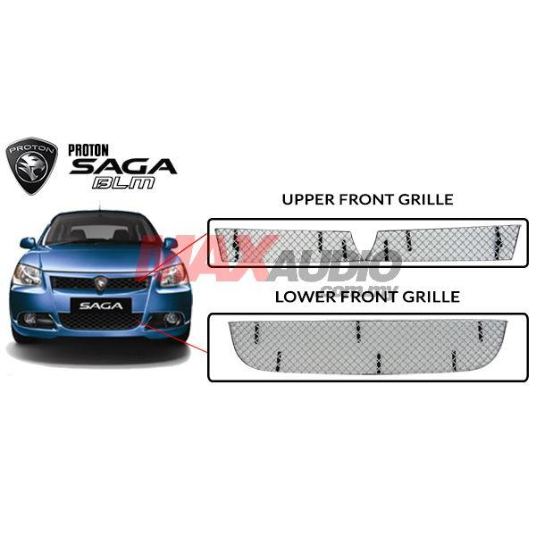 proton saga blm 2008 high quality front grille cover  ‹ ›
