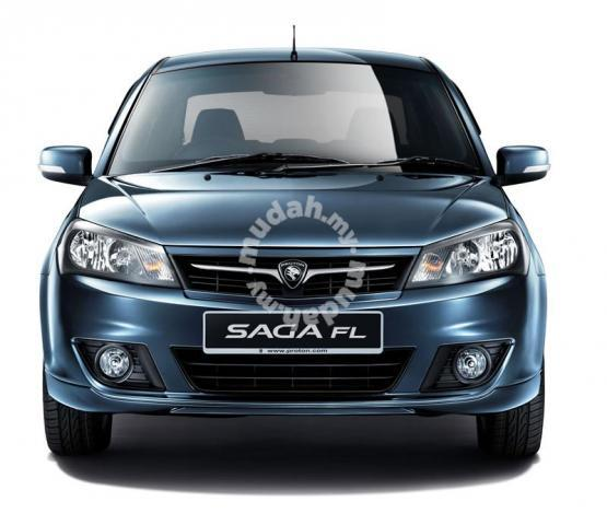 Proton Saga FL Head Lamp Crystal Black Taiwan