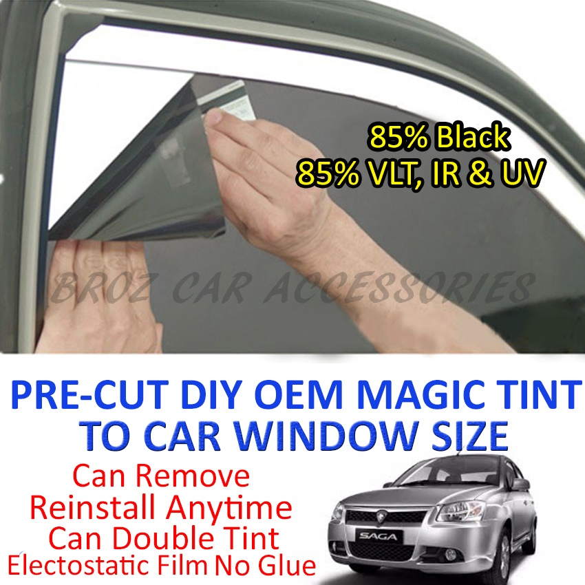 Proton Saga FLX Magic Tinted Solar Window (4 Windows & Rear) 85% Black