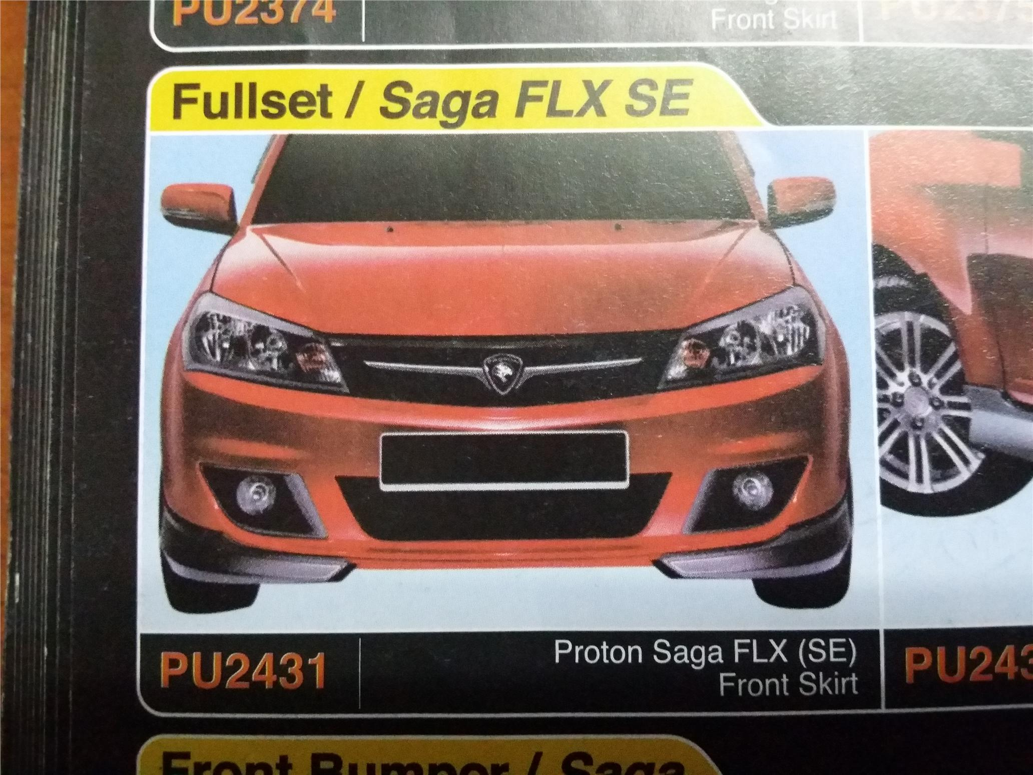 Proton Saga Flx Se Front Skirt Pu24 End 3 11 2016 10 15 Am