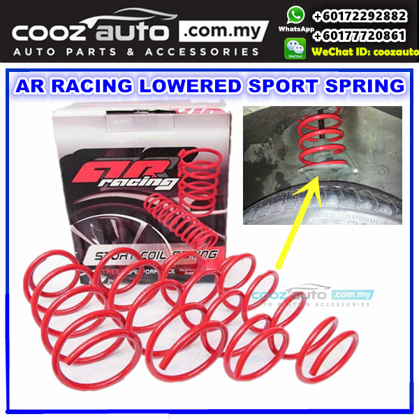 PROTON SAGA ISWARA 1.3 1.5 AR Racing Lowered Sport Coil Spring
