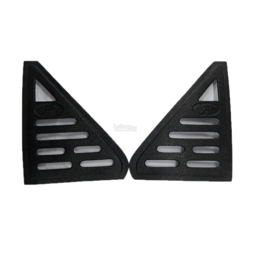 Proton Saga Iswara Black Rear Side Window Triangle Mirror Cover