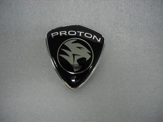 PROTON SATRIA NEO GENUINE PARTS FRONT TOP MARK ( BLACK )