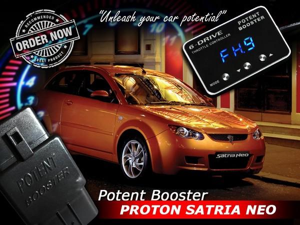 [PROTON SATRIA NEO] POTENT BOOSTER 6-Drive E Throttle Controller