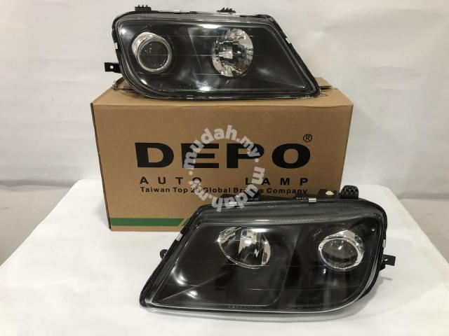 Proton Waja Head Lamp Black Taiwan