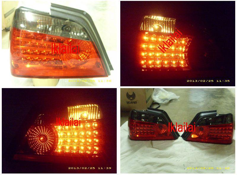 Proton Waja LED Tail Lamp [Smoke/Red] Price per pair