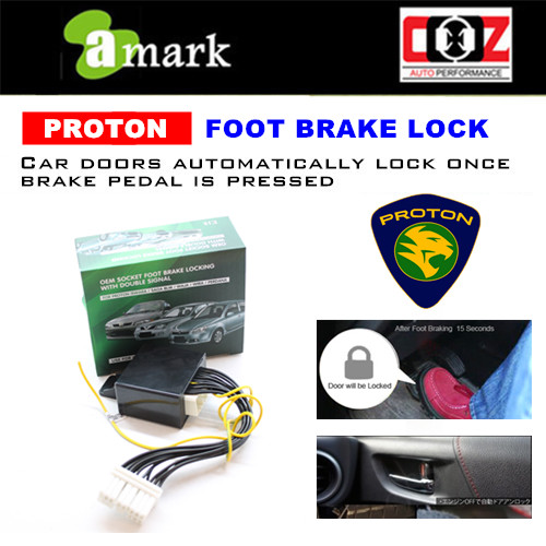 Proton Waja OEM Socket Foot Brake Locking With Double Signal