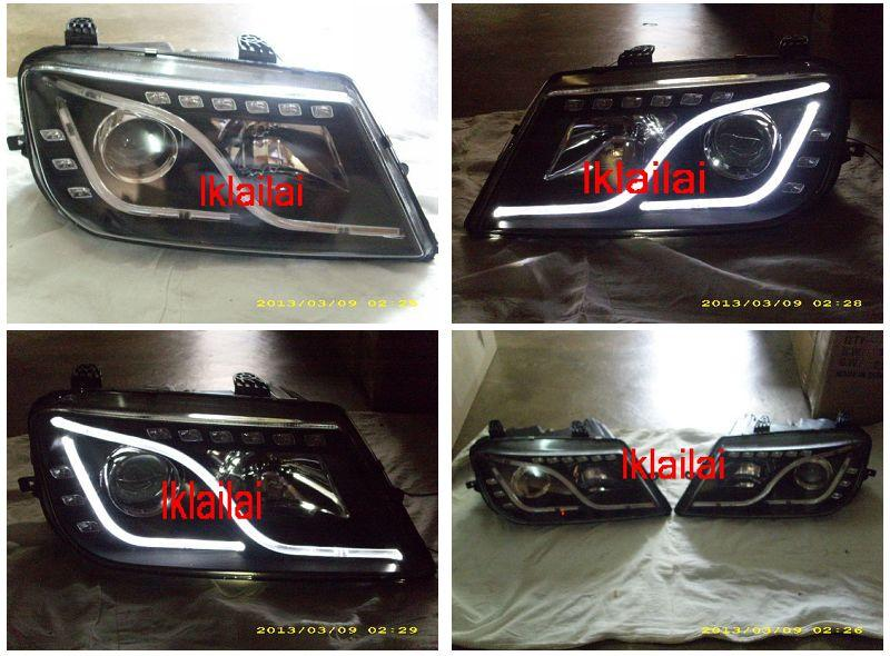 Proton Waja Projector Head Lamp Cool Starline DRL
