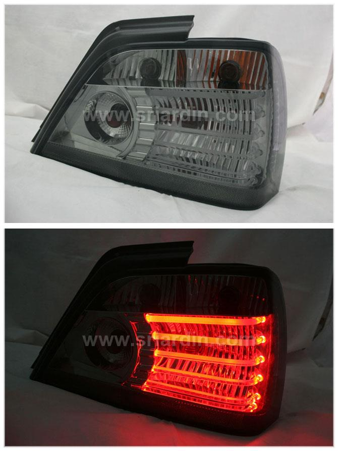 Proton Waja Smoke Light Bar Tail Lamp