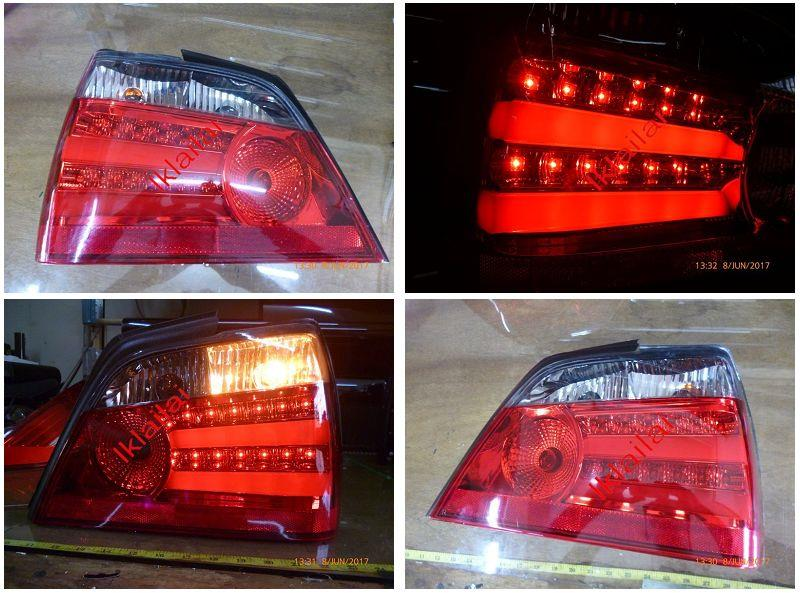 Proton Waja Tail Lamp LED Light Bar