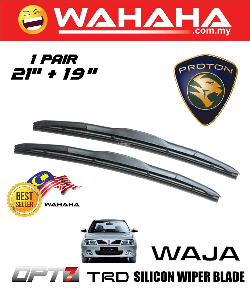 Proton Waja U Shape OPT7 21'+19' TRD Silicon Wiper