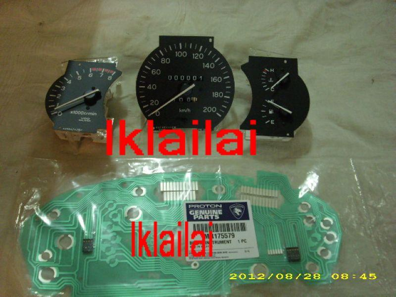Proton Wira 1.5 Manual OEM Meter Black Face