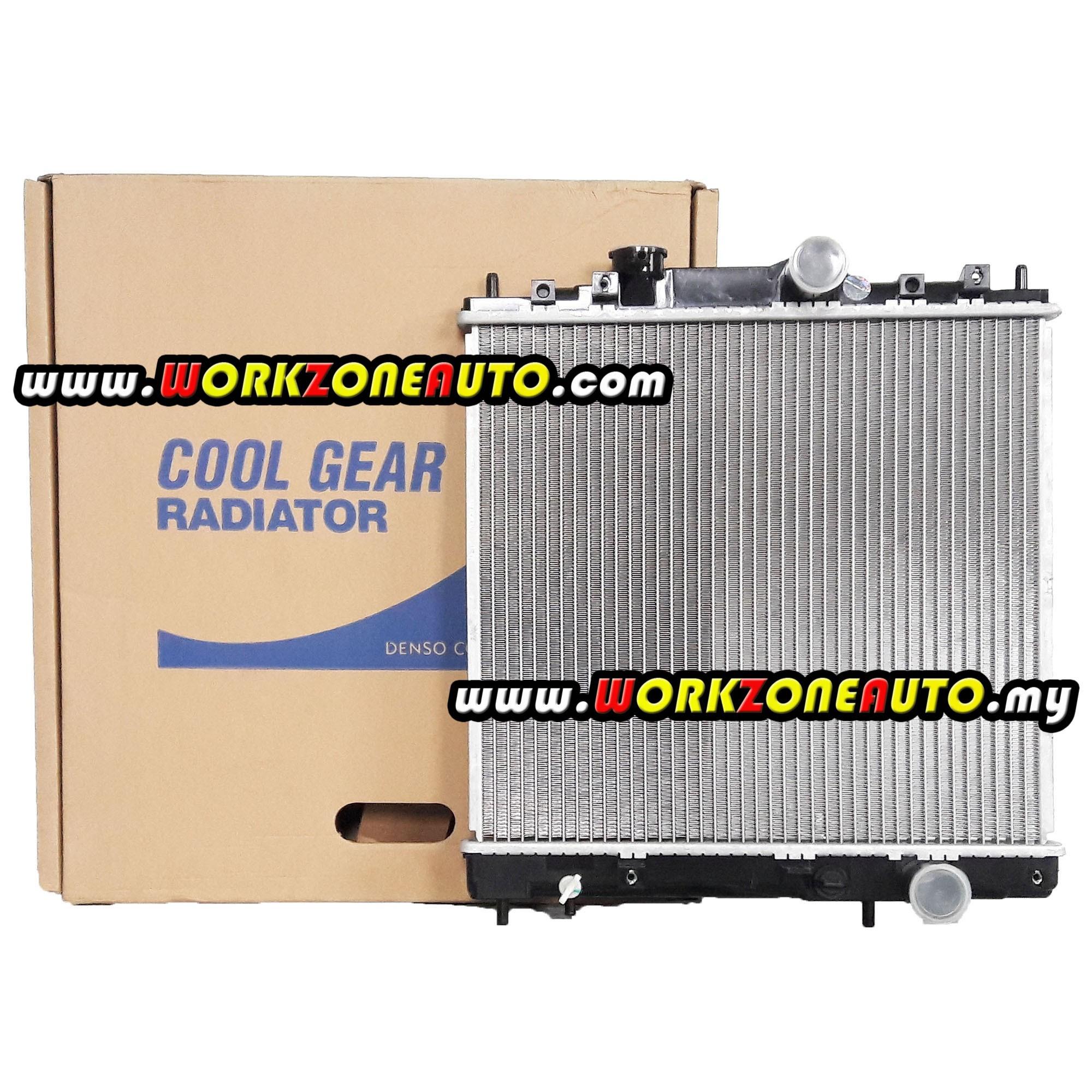 Proton Wira 1993 1.3 1.5 Manual 2 Row Radiator Denso Cool Gear on
