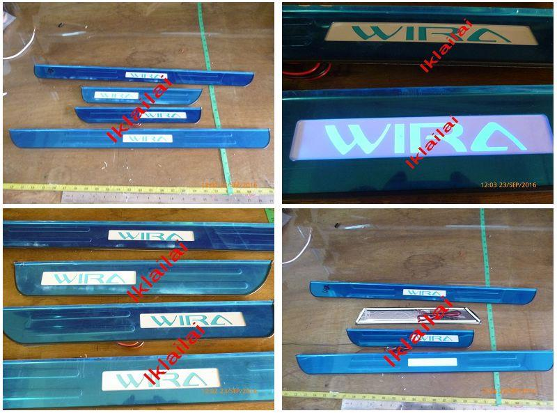 Proton Wira Door / Side Sill Plate LED [4pcs/set]