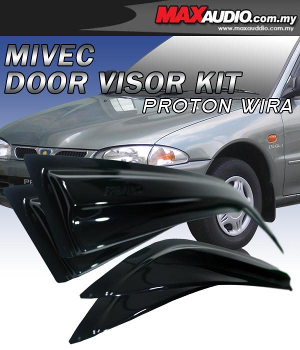 PROTON WIRA Mivec Style High Quality Anti UV Light Door Visor