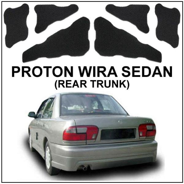 Proton wira sedan carfit custom rear end 312018 1200 am proton wira sedan carfit custom rear boot trunk bonnet sound proof sciox Images