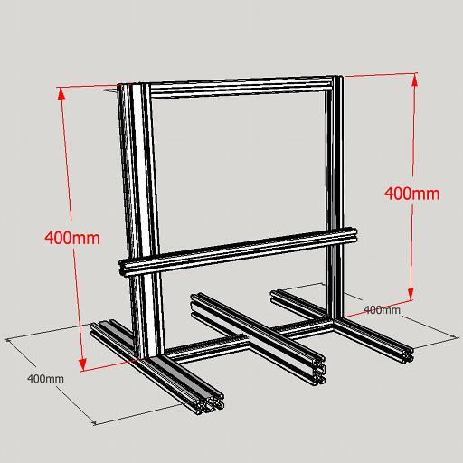 Prusa i3 3D Printer Frame T-Slot (X (end 11/7/2019 4:15 PM)