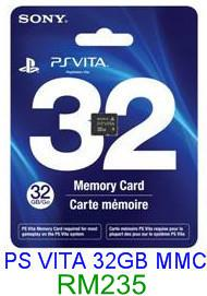 PS VITA 32GB Memory Card ★Brand New & Sealed★