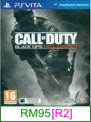 PS VITA Call Of Duty Black Ops Declassified [R2] ★Brand New & Se..