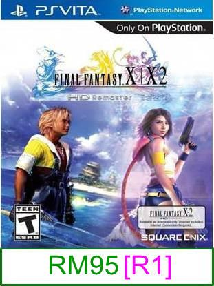 PS VITA Final Fantasy X/X-2 HD Remastered [R1] ★Brand New & Seal..