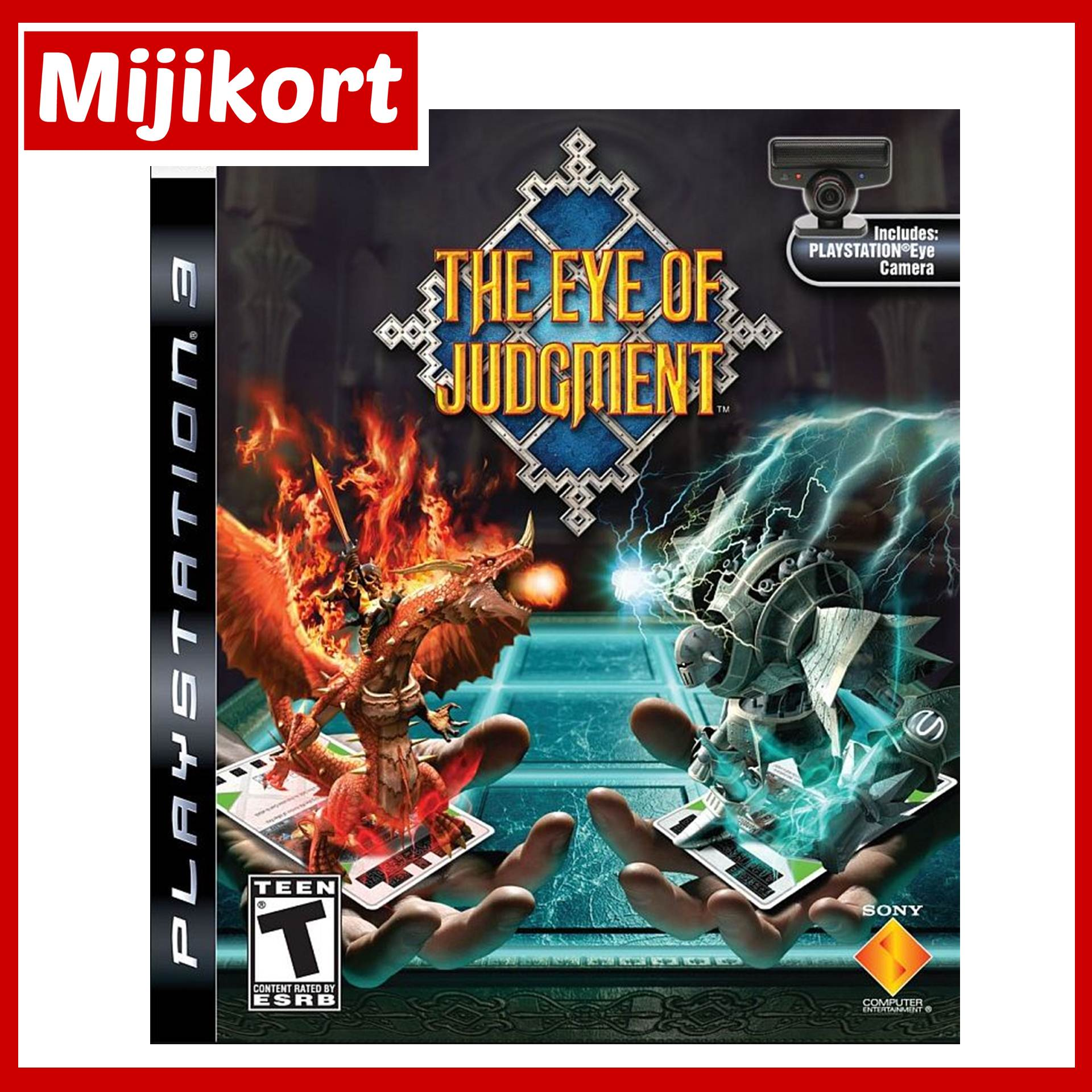 PS3 The Eye Of Judgment R1 (Us...