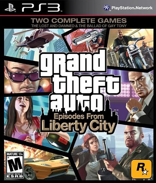 Ps3 GTA 4 LIBERTY CITY STORY