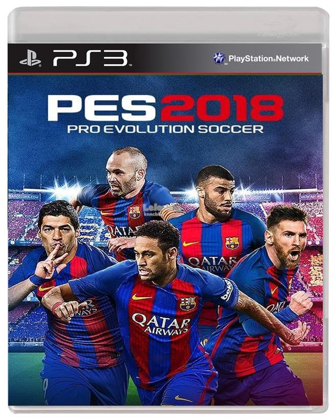 PS3 PES 2018 / PRO EVOLUTION SOCCER 2018 ENG