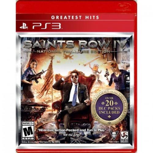 PS3 Saints Row IV National Treasure (end 8/23/2018 7:01 PM