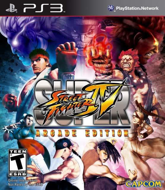 PS3 Super Street Fighter IV Arcade Edition (PSN Download)