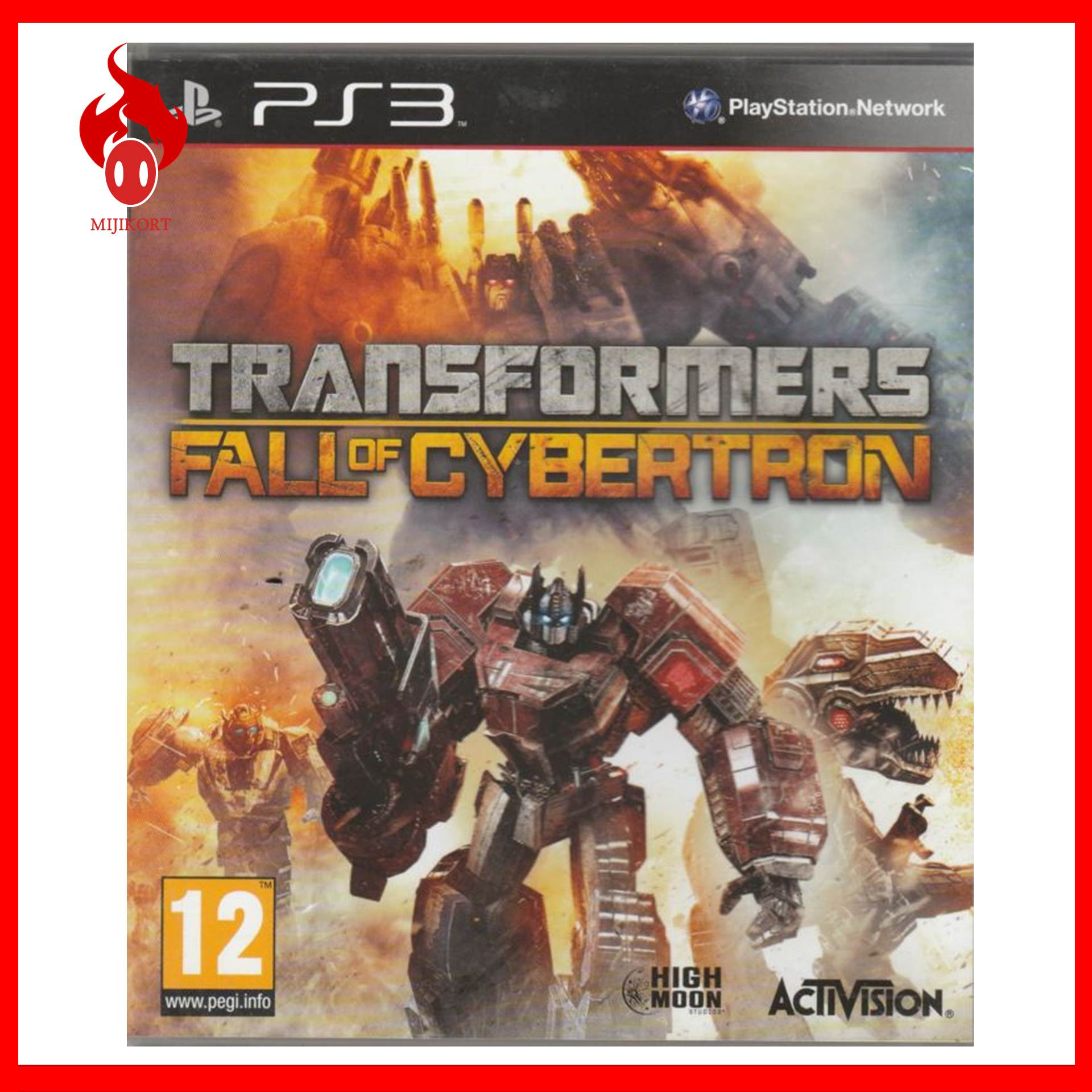 ps3 transformers fall of cybertron end 10 29 2020 8 06 pm