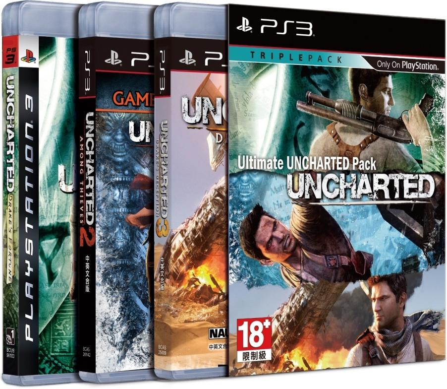 Playstation 3 Ps3 Game : Ps ultimate uncharted game pack for end am
