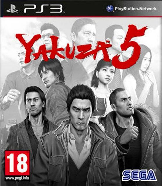 PS3 Yakuza 5 (PSN Download)