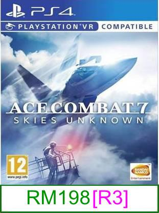 PS4 Ace Combat 7 Skies Unknown [R3] ★Brand New & Sealed..