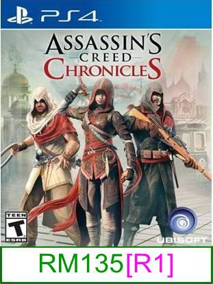 PS4 Assassin's Creed Chronicle [R1] ★Brand New & Sealed★