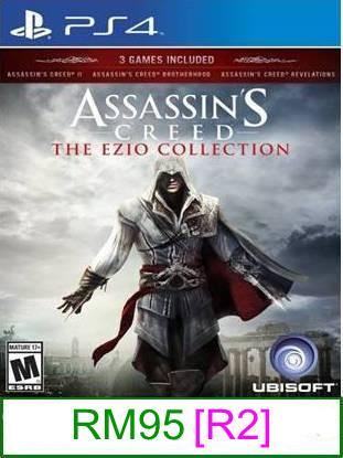 PS4 Assassin's Creed The Ezio Collection [R2] ★Brand New & Seale..