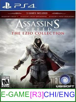 PS4 Assassin's Creed The Ezio Collection [R3] ★Brand New & Seale..