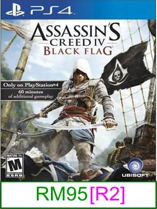 PS4 Assassin's Creed IV Black Flag [R2] ★Brand New & Sealed&#973..