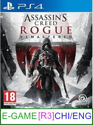 PS4 Assassin's Creed Rogue Remastered (CHI/ENG) [R3] ★Brand New ..